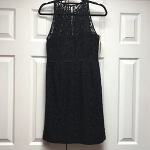 J Crew black lace cocktail party